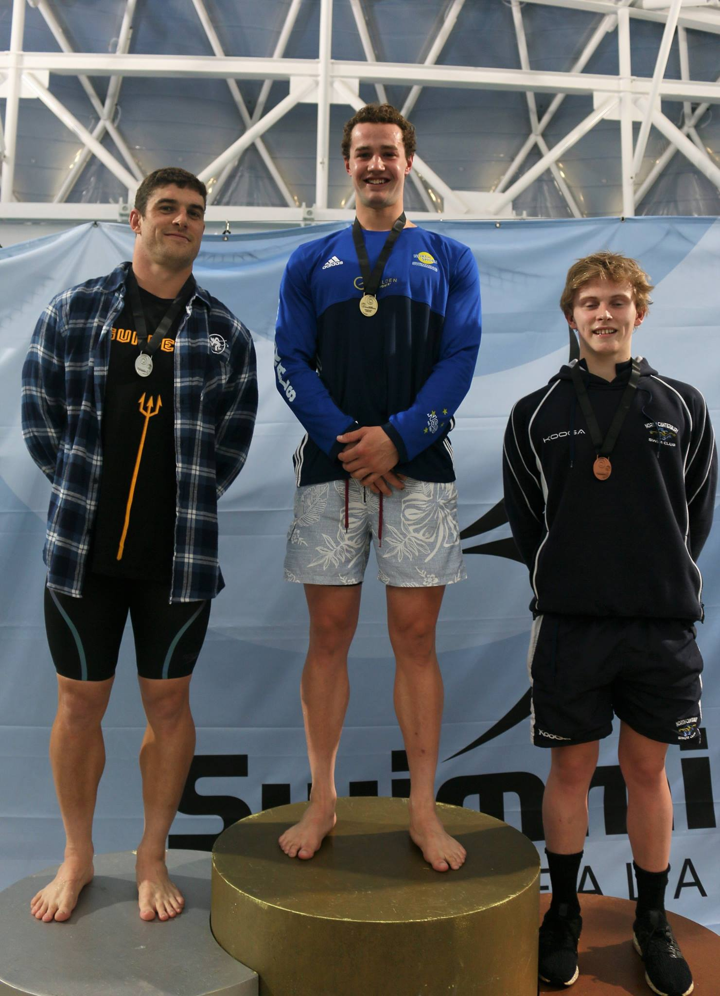 HBPB Swimmer Wins Open Medal