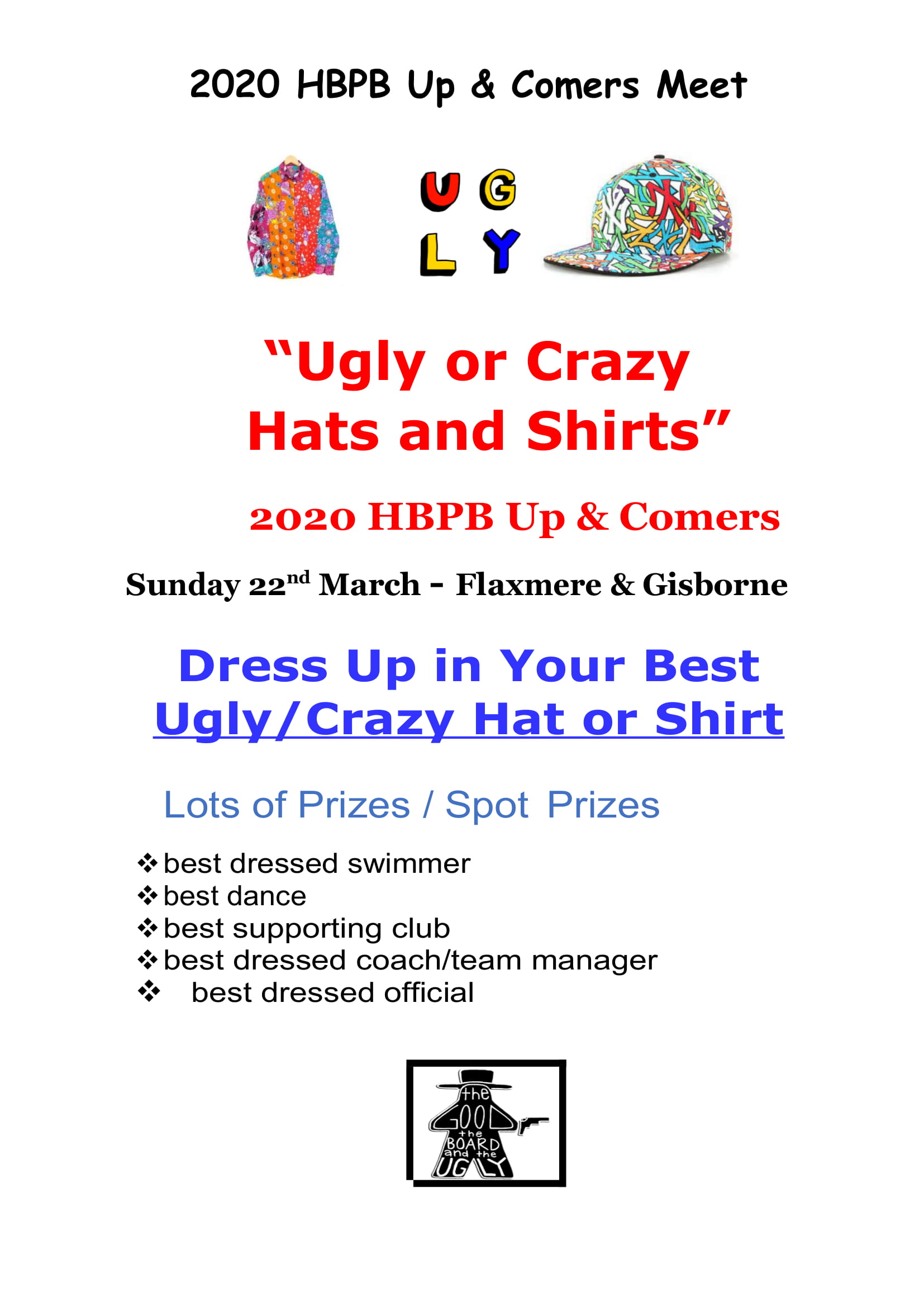 HBPB Up & Comers Dress Up Theme